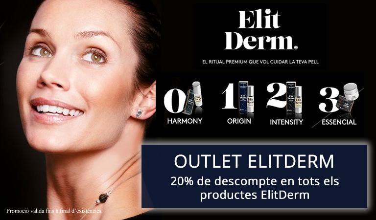 20% de descompte en tots els productes ElitDerm